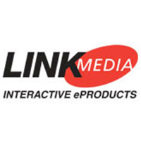 Logo for LinkMedia interactive educational products