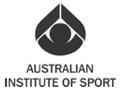 Australian Institute of Sport logo greyscale