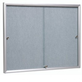 Glass Fronted Notice Board