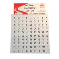 Photo of Vista Magnetic Letters