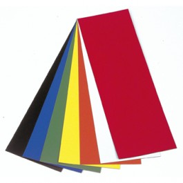 Photo of the colours available in Vista Magnetic Sheets 300x100