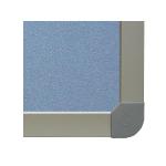 Picture of Metallo trim with plastic corners.
