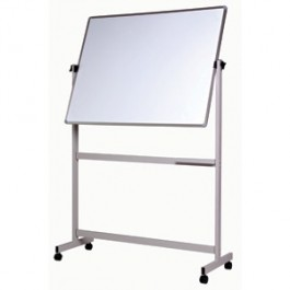 Vista pivoting whiteboard on a mobile stand