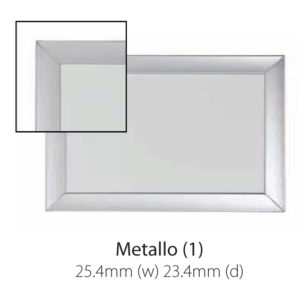 Vista Australian Made Whiteboard with Metallo Trim