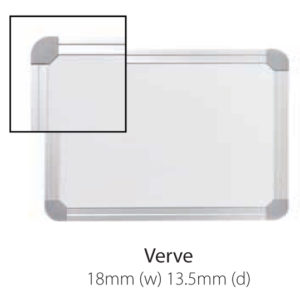 Vista Australian Made Whiteboard with Verve Trim